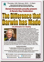 Difference that Darwin has Made 12th February 2015