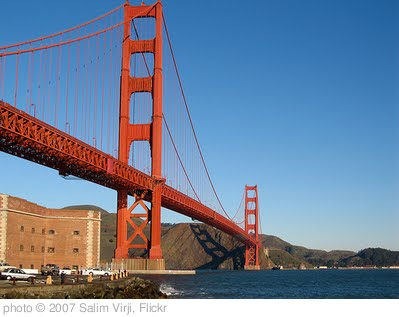 'Golden Gate Bridge' photo (c) 2007, Salim Virji - license: http://creativecommons.org/licenses/by-sa/2.0/