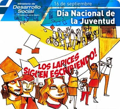 día nacional juventud lapices