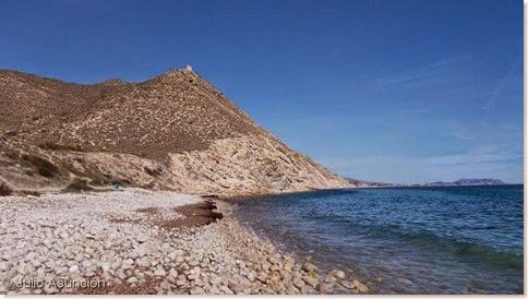 La Torre de Reixes desde la playa