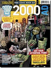 FCBD 2000AD