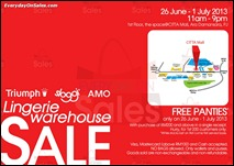 Triumph Warehouse Sale 2013 All Shopping Discounts Savings Offer EverydayOnSales
