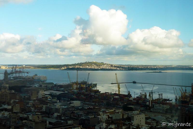 puerto, bahía y cerro - montevideo