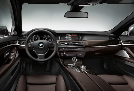 2014 BMW 5 series interior