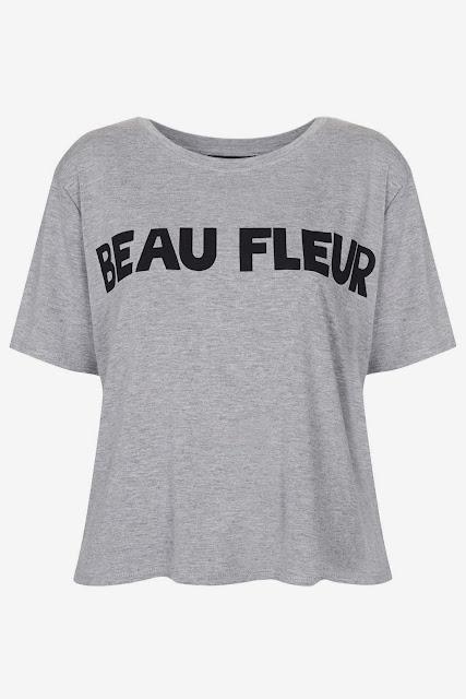 Topshop Beau Fleur Tee