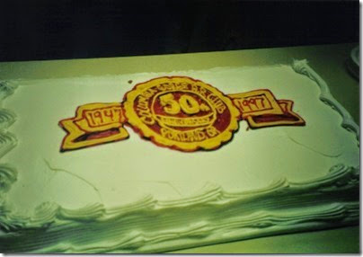 01 Columbia Gorge Model Railroad Club 50th Anniversary Cake in November 1997
