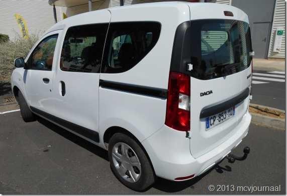 Frankrijk met de Dacia Logan MCV 05