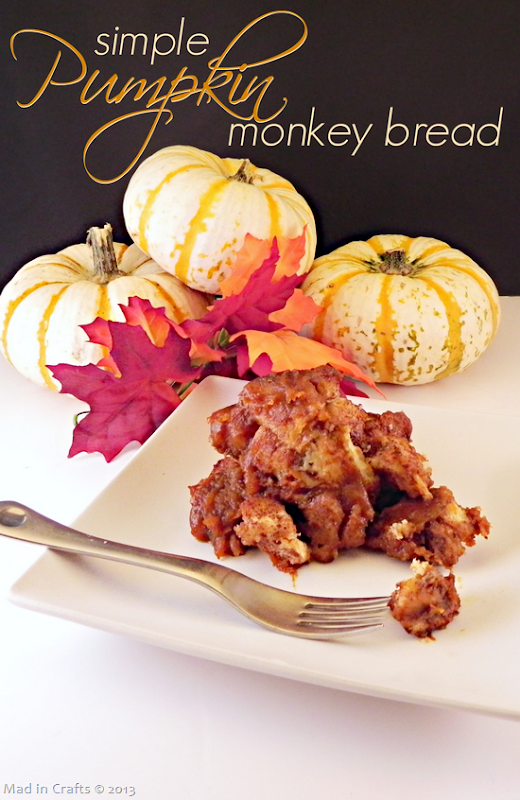 Simple Pumpkin Monkey Bread Recipe