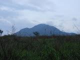 Gunung Manglayang at dawn from near Jatinangor (Dan Quinn, November 2012)