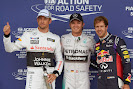 Top 3 qualifyers: 1. Rosberg 2. Button 3. Vettel