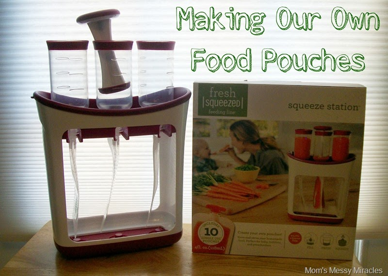 Making Our Own Food Pouches