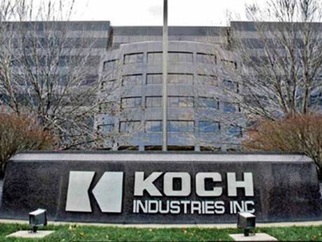 Koch Industries headquarters. An audit trail reveals that Koch Industries is funnelling millions of dollars through the Donors Trust, along with its sister group Donors Capital Fund, based in Alexandria, Virginia, to fund the effort to cast doubt on climate science. Photo: The Independent