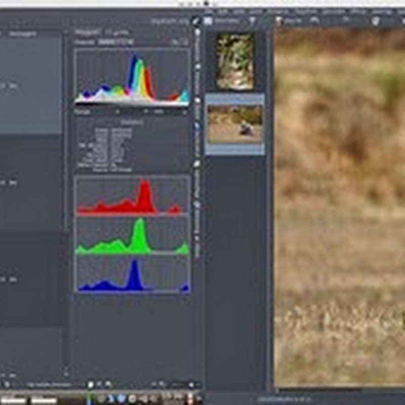 Guida a DigiKam: migliorare le foto con lo strumento Contrasto locale.