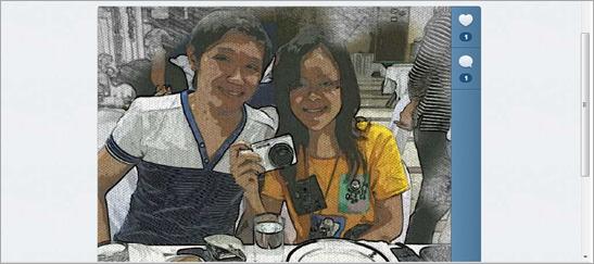 Samsung Galxy Camera: using artist editor Watersketch