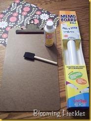 dry erase clipboard 001