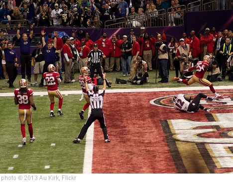 'Jacoby Jones Touchdown' photo (c) 2013, Au Kirk - license: http://creativecommons.org/licenses/by/2.0/