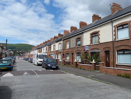Obiective turistice Irlanda de Nord: cartier catolic in Belfast