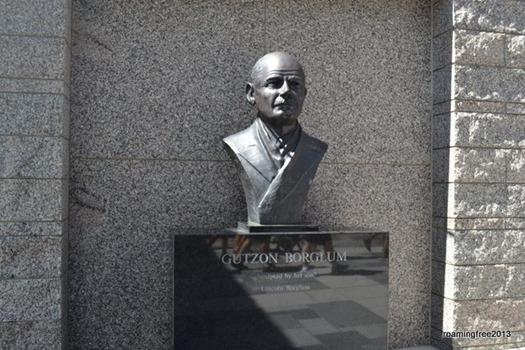 Sculptor Gutzon Borglum