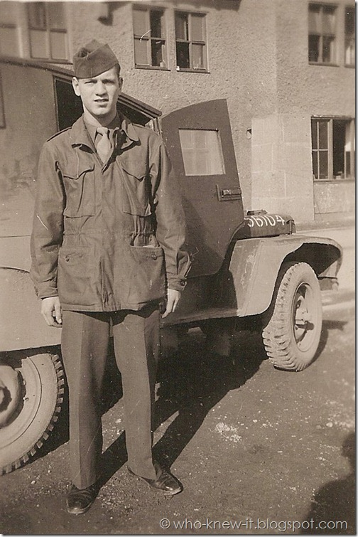 Gordon PFC Mar 1946