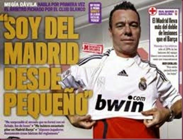 ÁRBITRO DEL MADRID