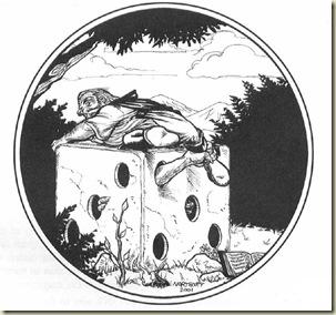 O Sábio - Hackmaster players handbook, 1ª página
