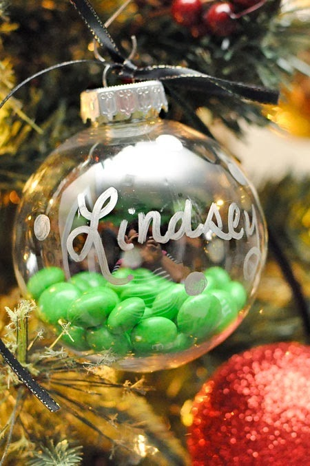Personalized Gingerbread M&M's Ornaments #HolidayMM #shop #cbias