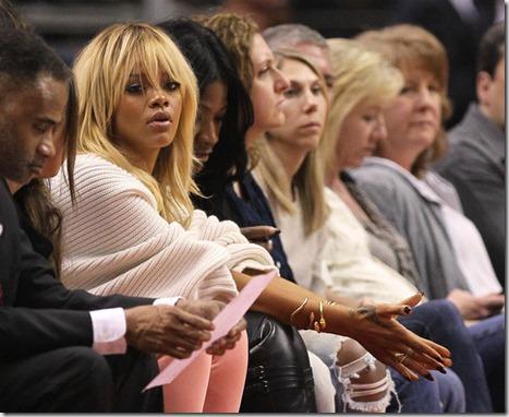 Rihanna Denver Nuggets v Los Angeles Clippers oy_n-ly27i2l