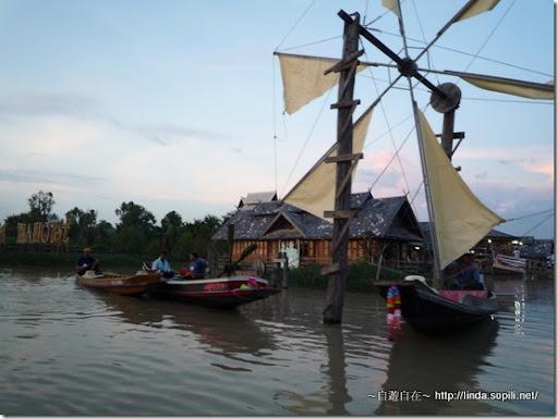 泰國芭達雅-錫攀水上市場Pattaya Floating Market 風車