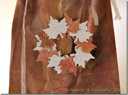 Punched Leaf  Wreath 2