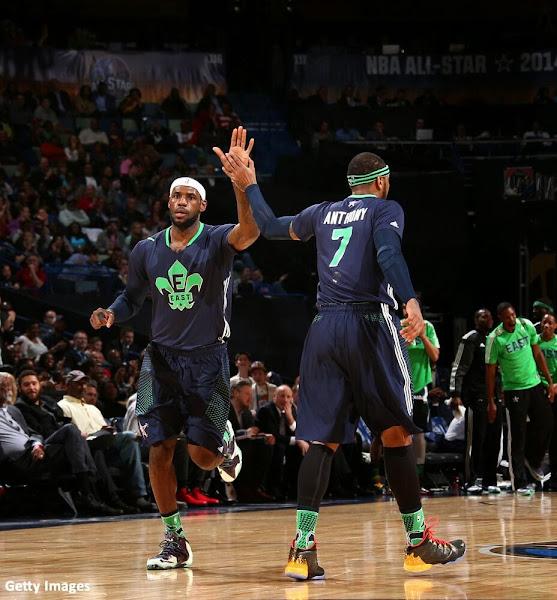 Gallery LBJ Wears Gator King LeBron 11 in 2014 NBA AllStar Game