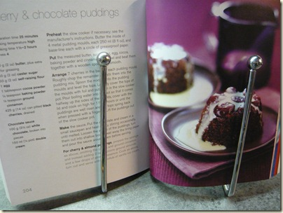 chocolate and cherry pudding 4