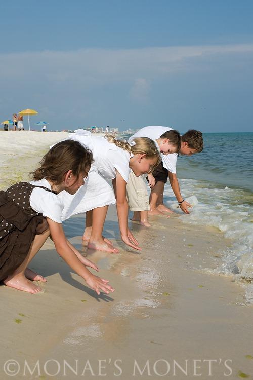 Kids at beach blog