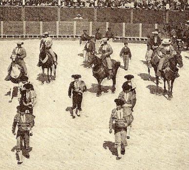1899-06-25 Burdeos. Paseillo Detalle picadores (2)