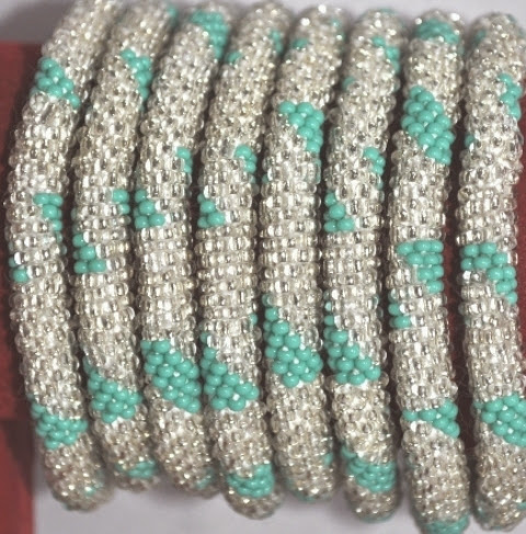 rollover bracelets Green series