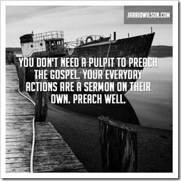 preach well