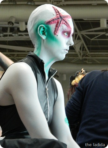 IMATS Sydney 2012 - Student Battle of the Brushes - Character Prosthetic - Kathleen O'Connell (2)