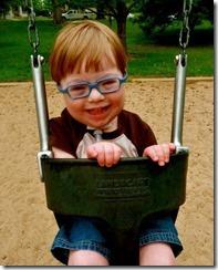 Ollie in swing