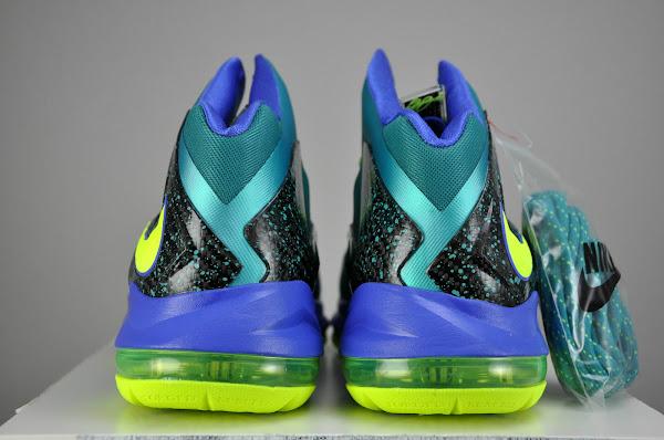 Nike LeBron X PS Elite Sport TurquoiseVoltViolet Force
