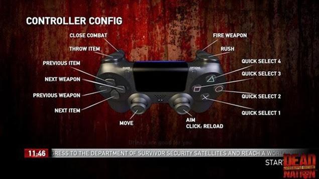 dead nation apocalypse edition tips 02 controller config bb
