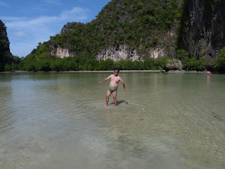 Plaja Thailanda: in laguna Hong