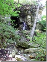 Rock Island cave