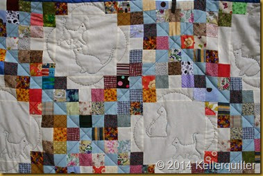 Quilt135-Irish Chain Detail