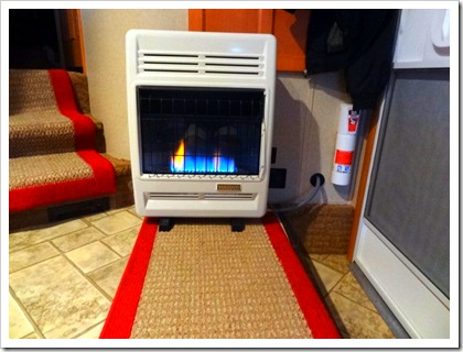 proprane heater