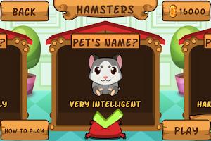 Screenshot of My Virtual Hamster - Cute Pet