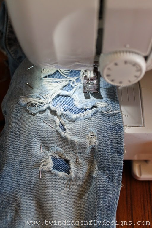 How to patch jeans (8)
