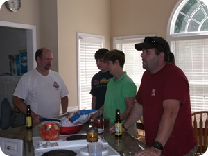 Kenny, Patrick, Missy & Aaron