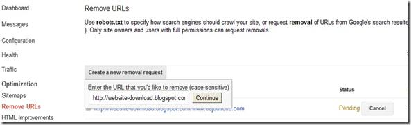 removed url tidak ditemukan