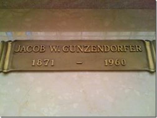 Jacob Gunzendorfer Grave