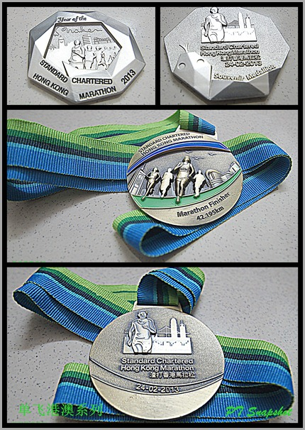 Finisher medal & souvenir medal