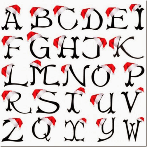 Xmas-Alphabet-Graffiti-A-Z-550x550
